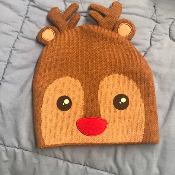 Gap Children's New reindeer winter ❄️ hat wear nw Boutique a7fac413eb3